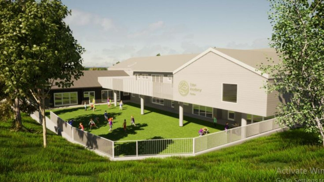 A total of 1678m2 has been set aside as outdoor play space.