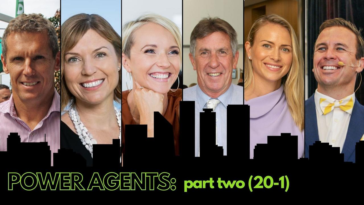 The Sunshine Coast Daily has compiled a list of the region's most powerful real estate agents. Pictured is Nick Dowling, Jodie Hedley-Ward, Amber Werchon, Kevin Annetts, Rebekah Offermann and Dan Sowden.