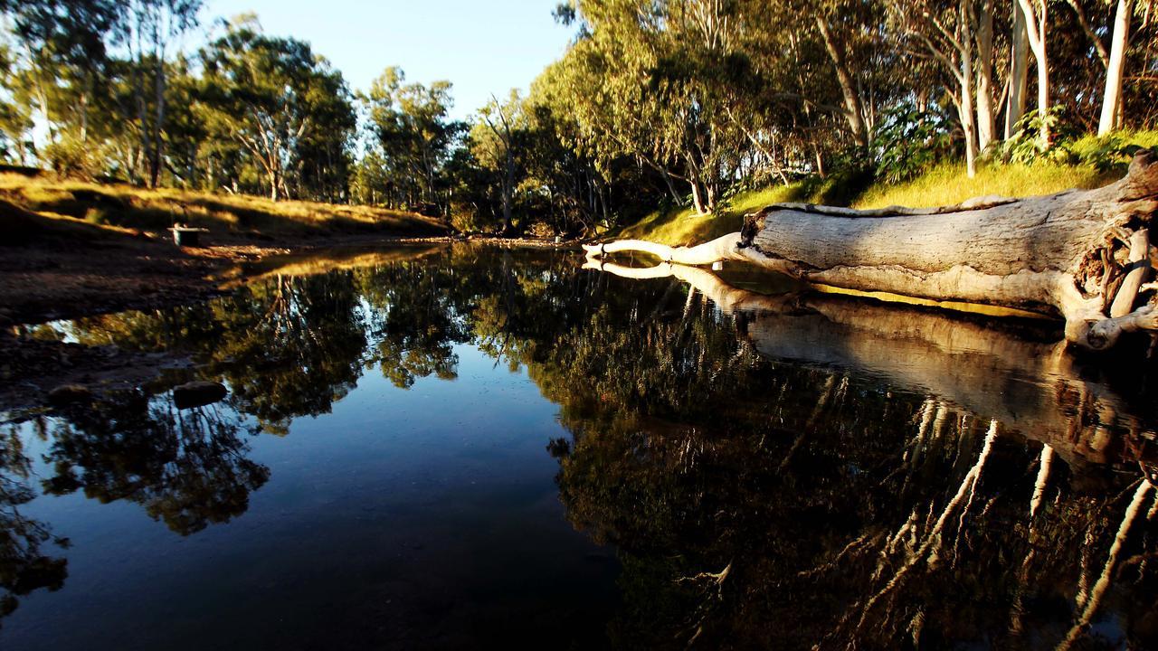 Retreat Creek at Sapphire. Picture: Mark Calleja