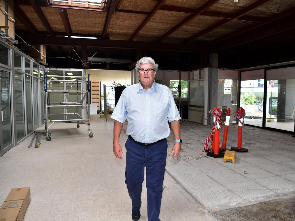Coast agent of almost 50 years, Roy Henzell.