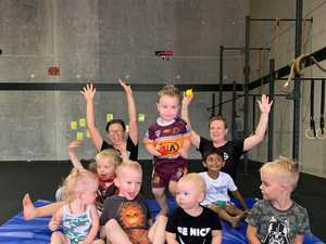 Crossfit gym dedicated to kid's fitness