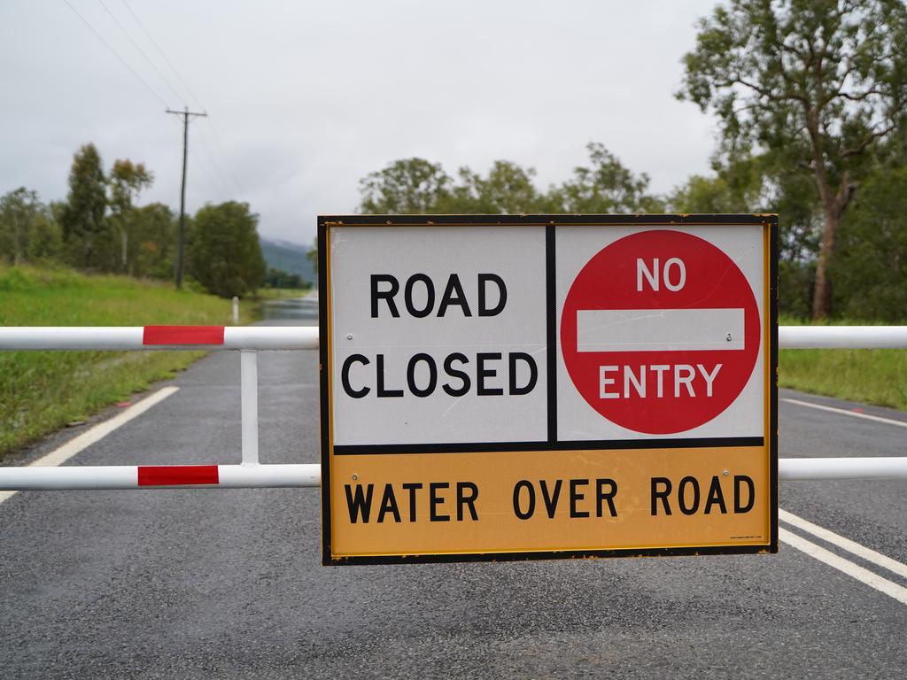 Picture: Heidi Petith generic flooding road closed Mackay