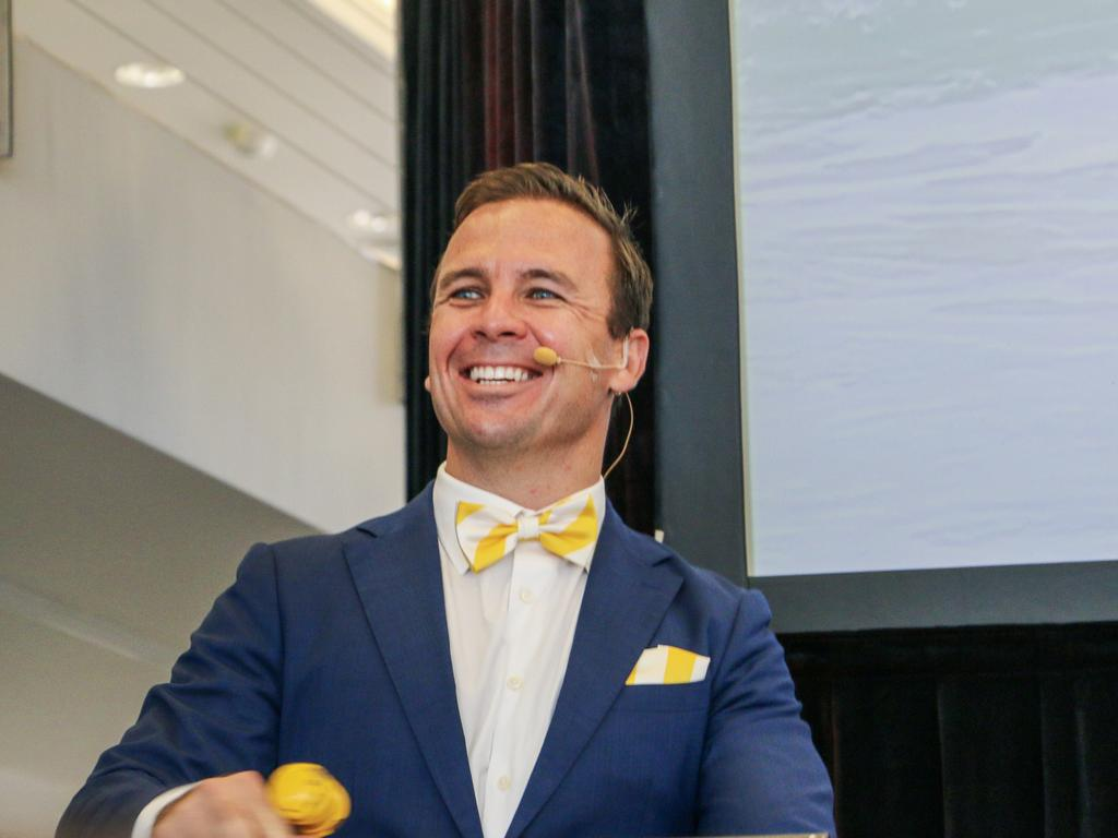 Ray White Maroochydore principal and auctioneer Dan Sowden.