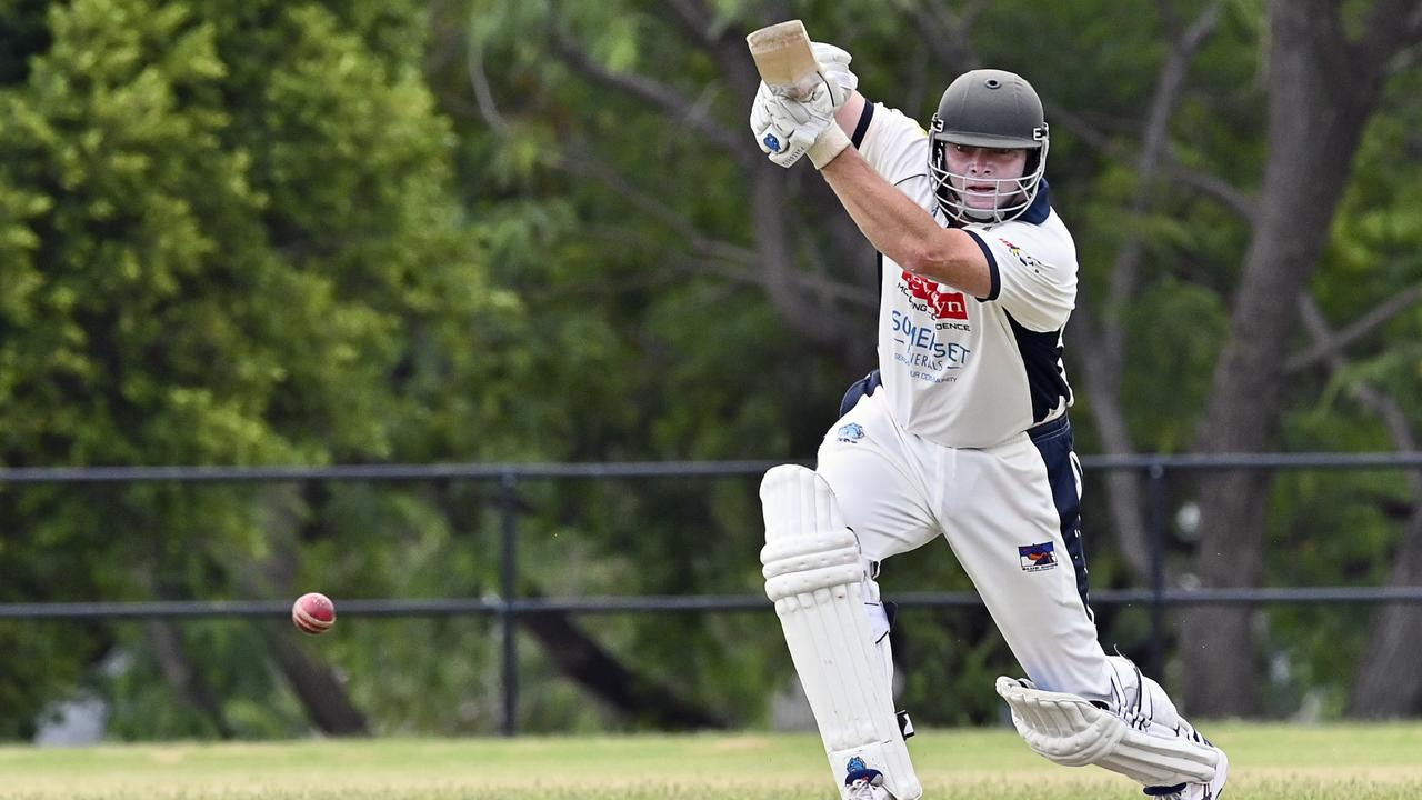 Laidley cricket great Mick Sippel in full flight. Picture: Cordell Richardson