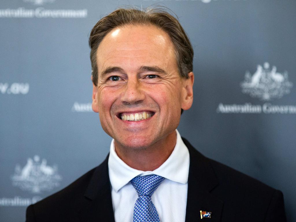 Greg Hunt has urged patience with the next phase of Australia's vaccine rollout to begin next week. Picture: NCA NewsWire/Sarah Matray