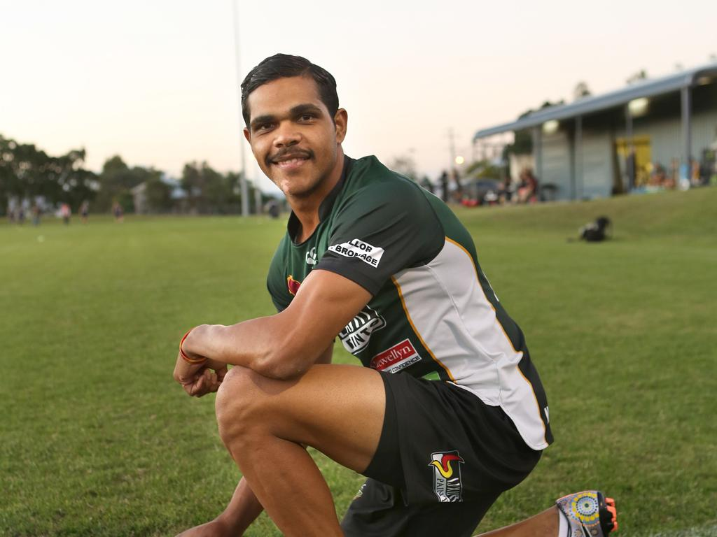 From a small town upbringing in the Outback, here's how the 'kangaroo catcher' is feeling about signing a contract with the NRL's most successful team.