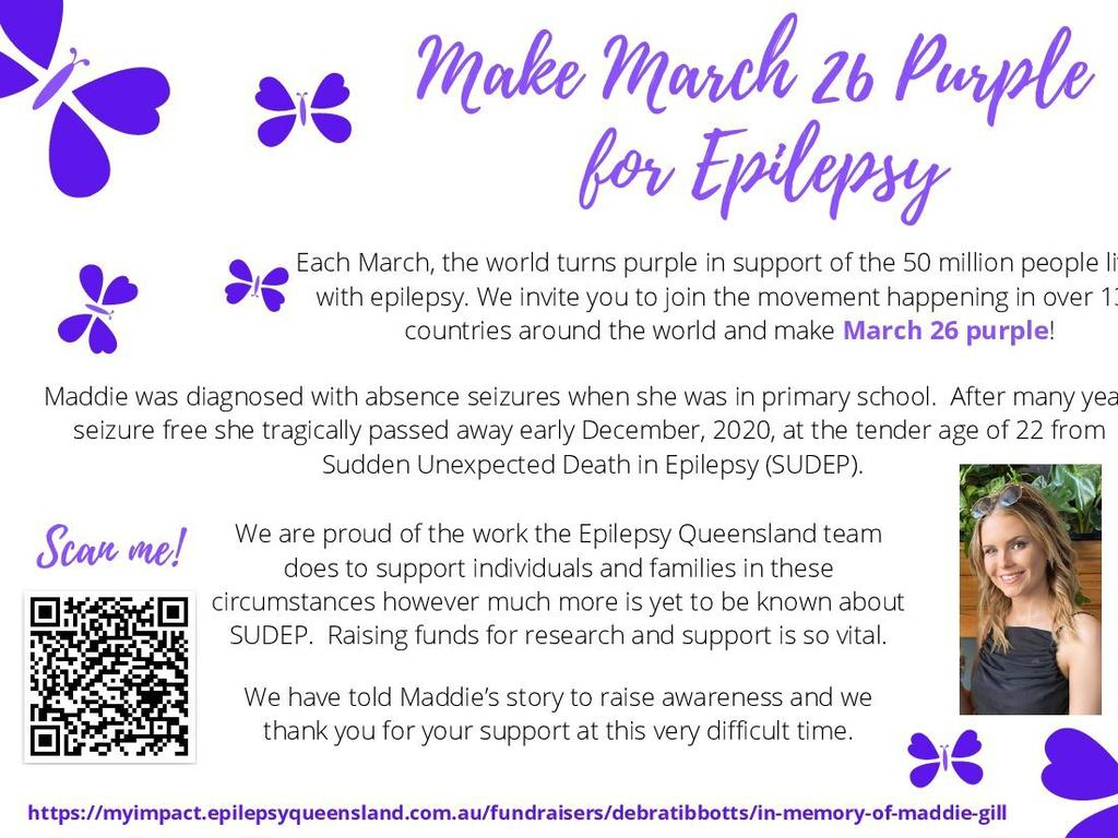 Mt Perry will turn the town purple for Epilepsy Day on March 26. Photo/Debra Tibbotts.