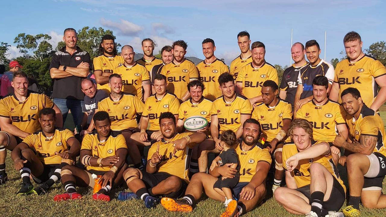 The Brahmans at last month's CQ Country Championships in Rockhampton.