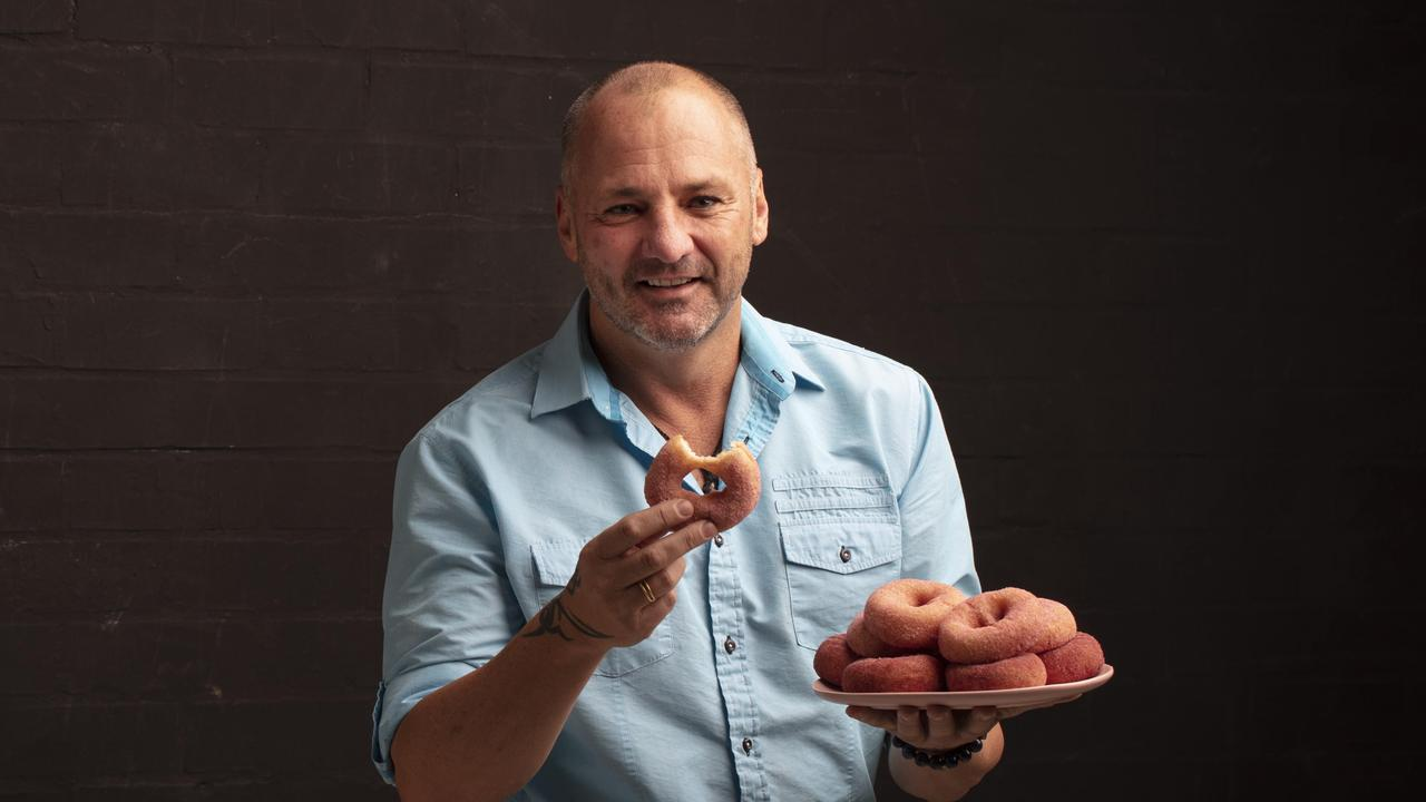 Part-owner of OMG Decadent Doughnuts David Moore. Picture: Russell Shakespeare