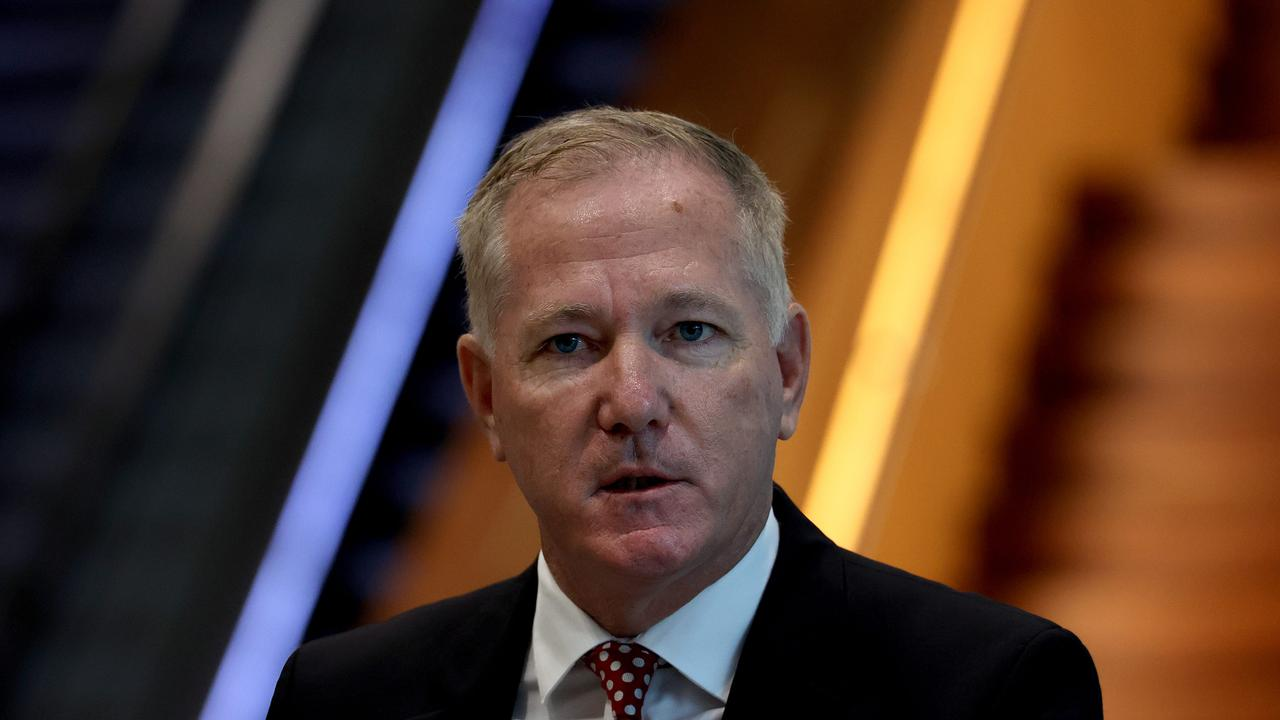NSW's top cop Mick Fuller has acknowledged his proposal for an app to record consent for sex might be 'the worst idea' he's had all year after he was roundly criticised for the plan. Picture: NCA NewsWire / Dylan Coker