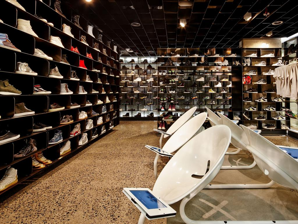 Sneakerboy's Melbourne store.