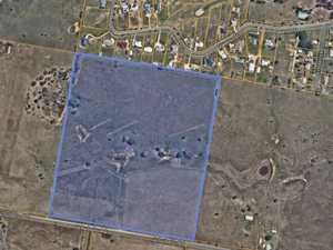 Land outside rural township set for residential subdivision