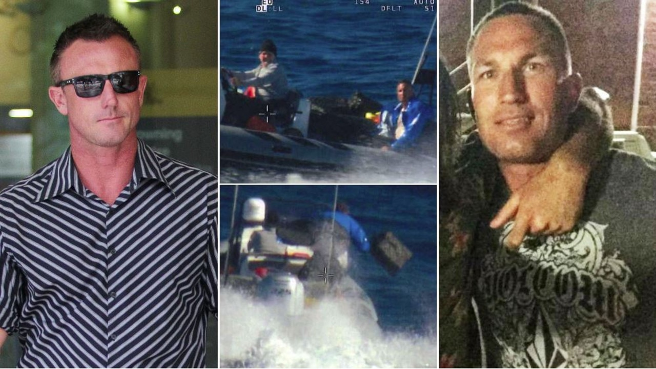 The jury in a trial for an Olympic kayaker and another man accused of trying to smuggle $200m of cocaine into Australia has been shown video of a chase.