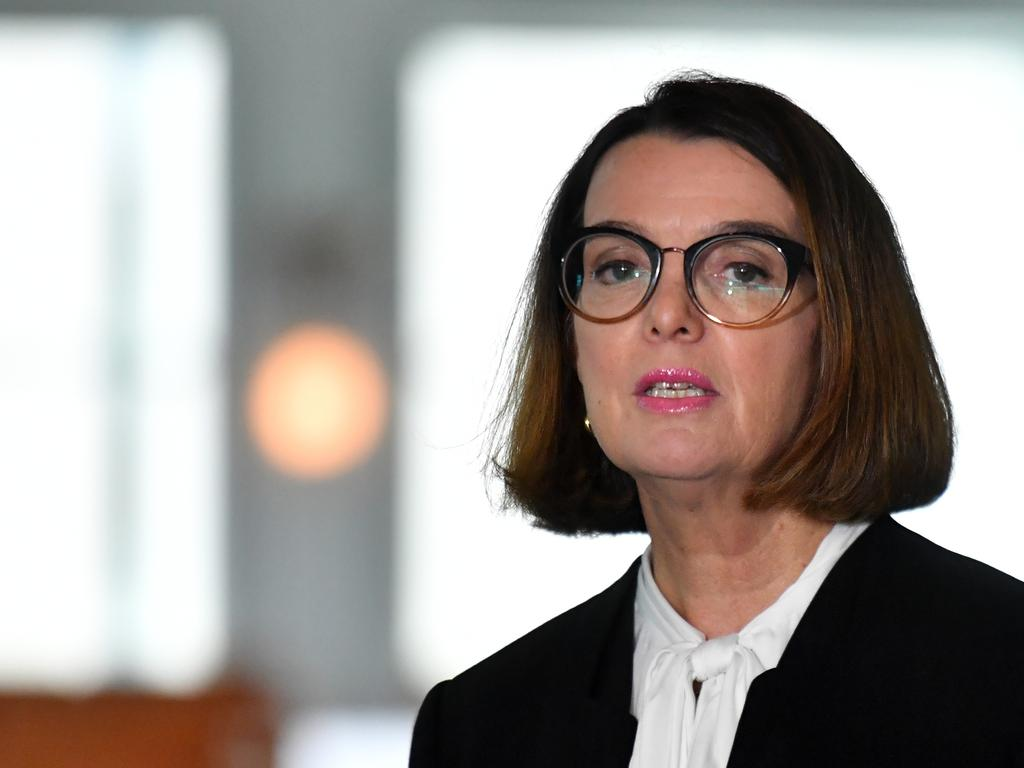 """Minister for Families Anne Ruston says an increase in JobSeeker payments is a """"big day for Australia"""". Picture: Mick Tsikas"""