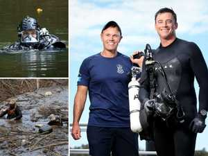 Sharks and sewage pits: Police divers reveal most grim jobs