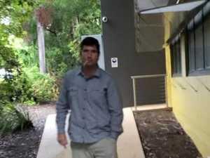Kick, kick, smash: Coast man's $2k outburst on cop car