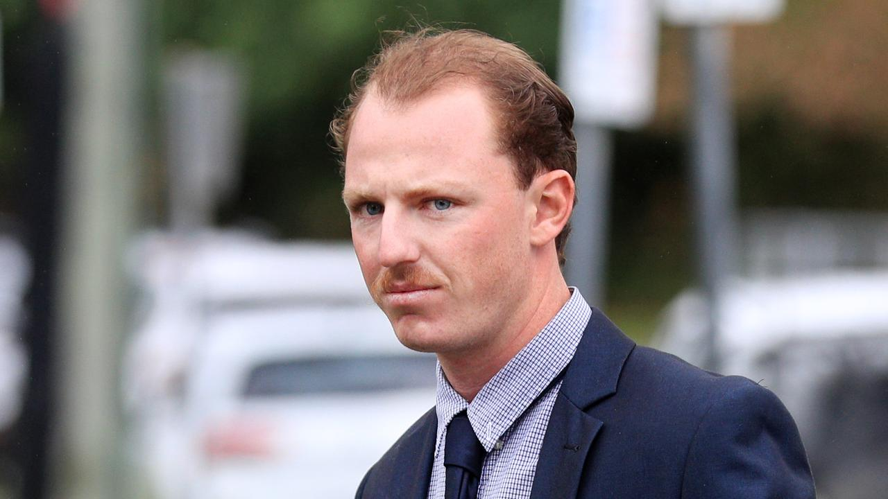 Jed Thomas Conroy leaves Tweed Heads Local Court on March 15. Picture Scott Powick Newscorp