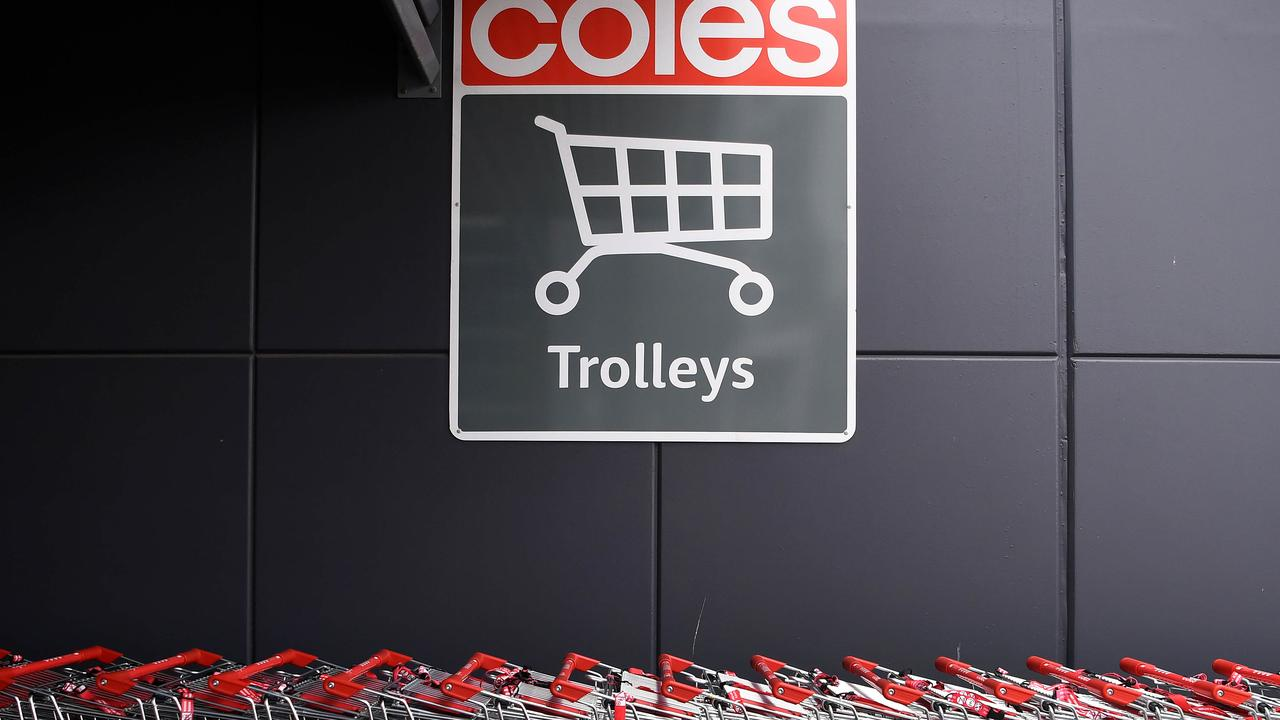 Coles has pledged to deliver zero greenhouse gas emissions by 2050. Picture: NCA NewsWire / Dan Peled