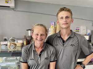 Mum brings son on board to open dream cafe
