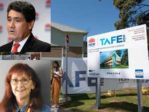 War of words erupts over Coffs Harbour Tafe cuts