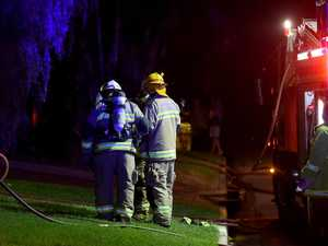 Crews battle late-night kitchen fire on Coast