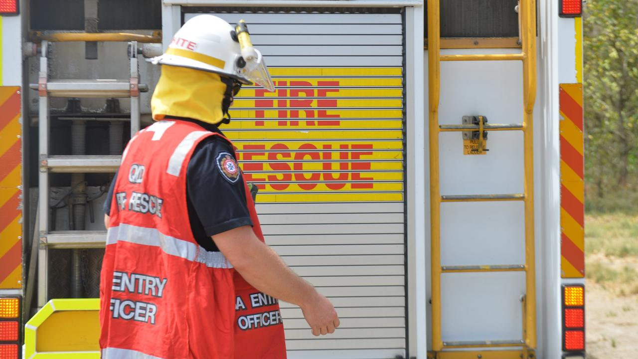Queensland Fire and Emergency Services attended the scene. Photo: Zizi Averill