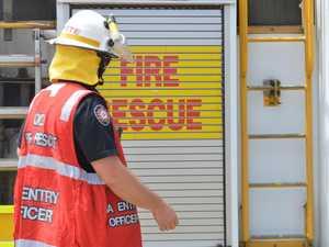 Car breaks down in Alton Downs, engine on fire