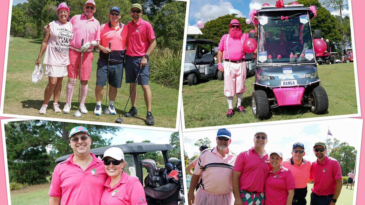 pink golf gympie