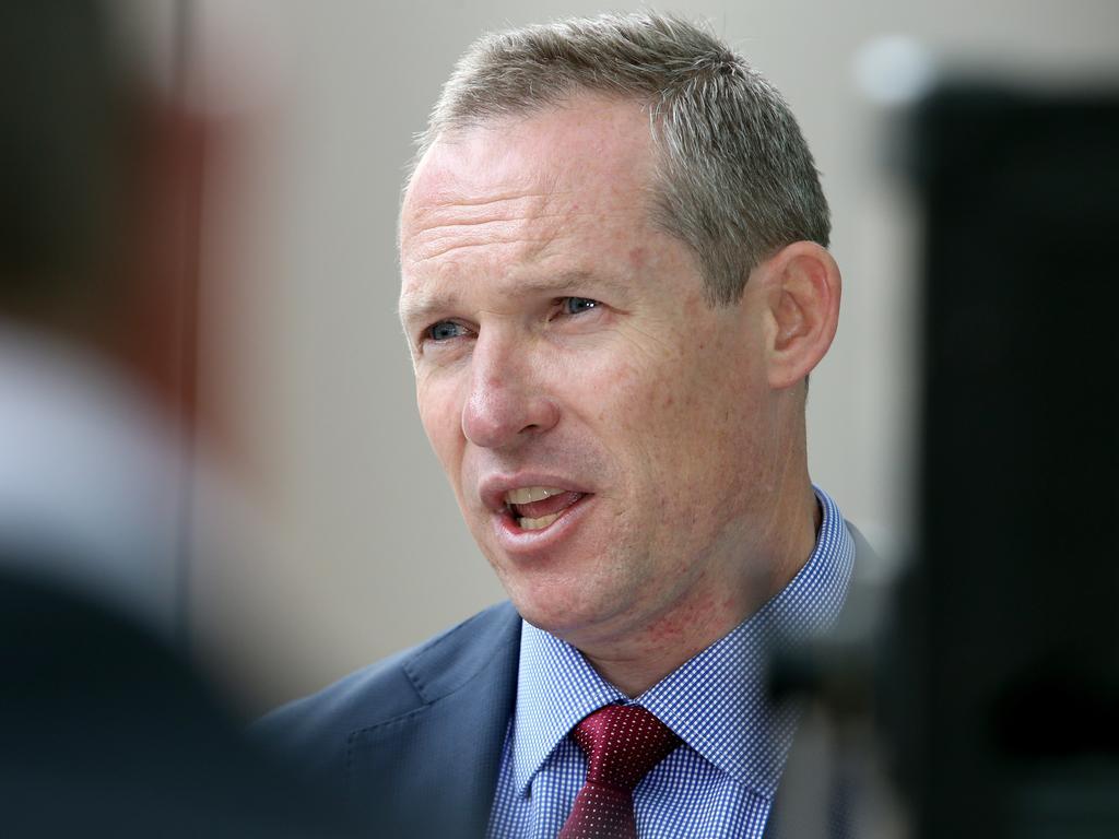 Embattled Public Works Minister Mick de Brenni