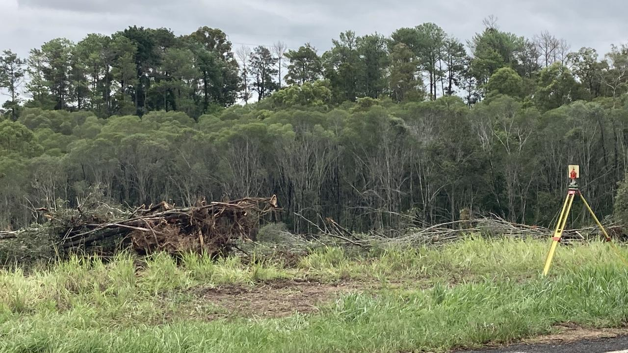 The owner of an undeveloped block of land being cleared of vegetation at the Southside has declined to comment as to what the plans for the land's future are once workers finish at the property.