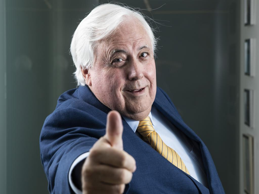 Not only did Clive Palmer top Queensland's rich list but he doubled his wealth.