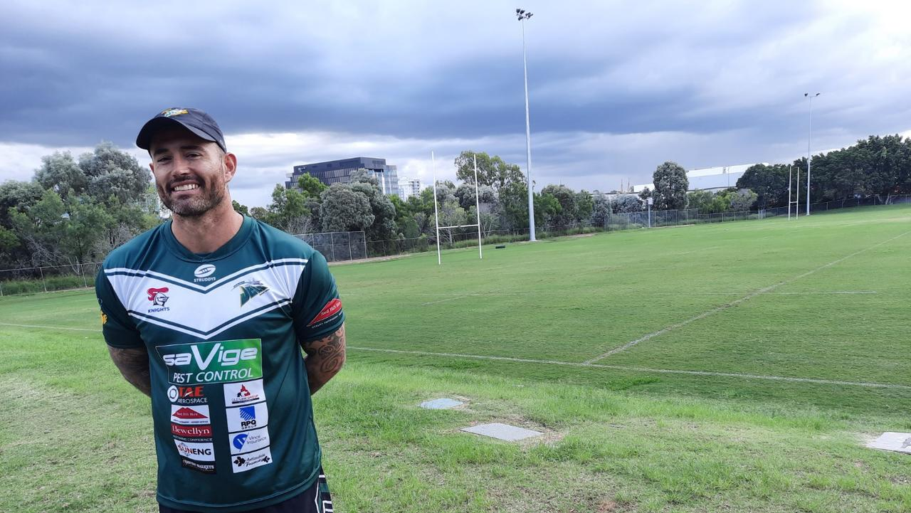Ipswich Jets captain Nat Neale looked fit and relaxed about kicking off his team's Intrust Super Cup season at the North Ipswich Reserve on Saturday. Picture: David Lems