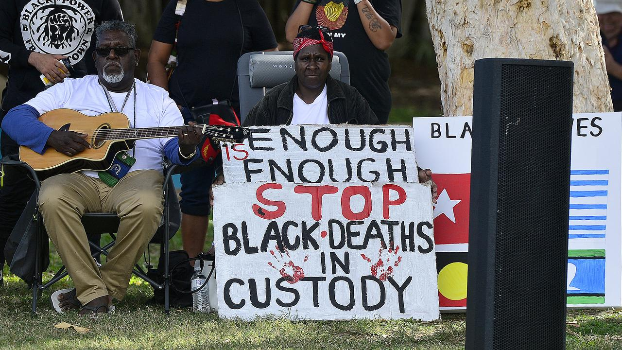 Townsville hosted a Black Lives Matter rally at Strand Park last year. PICTURE: MATT TAYLOR.