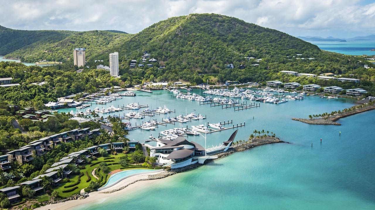 Hamilton Island was bought by the Oatley family in 2003. Picture: Kara Rosenlund