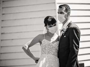 Glamorous COVID wedding impresses