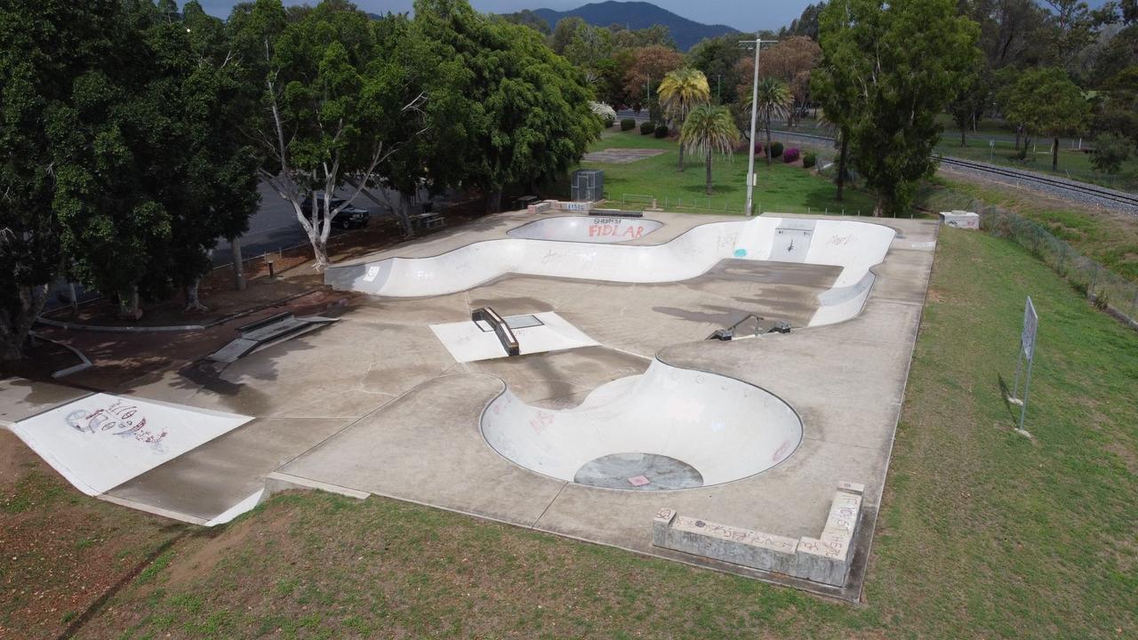 North Rockhampton's Stapleton Park skate park. Picture: Contributed