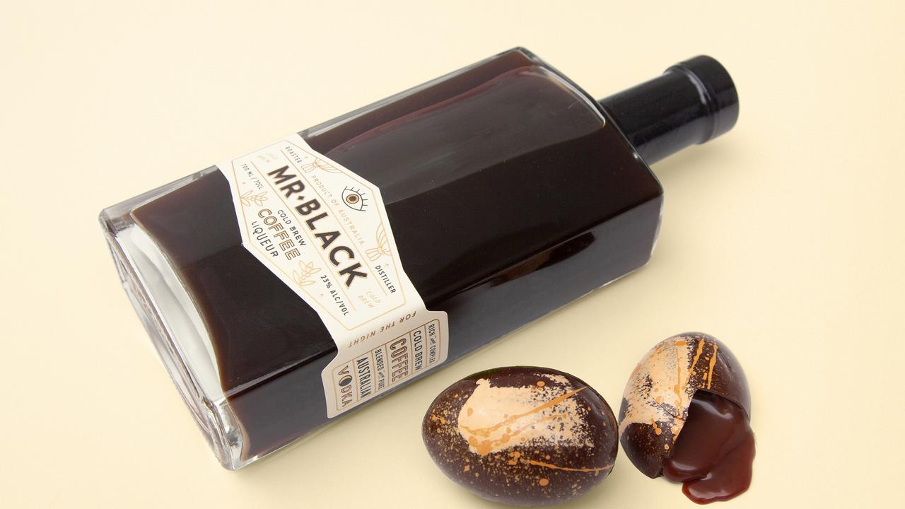 Mr Black Coffee Liqueur's Meltdown Egg. Picture: Supplied