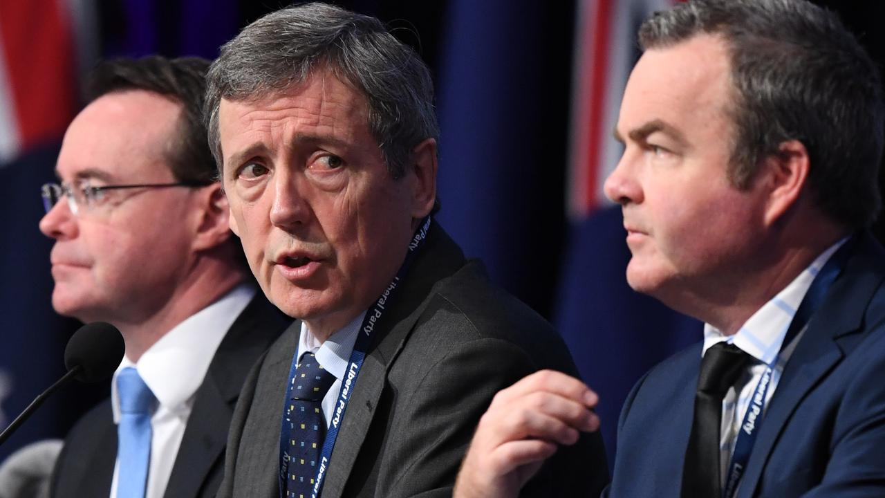 Will current Victoria Liberal Party president Robert Clark step aside for Kennett? Time will tell. Picture: AAP Image/Julian Smith.