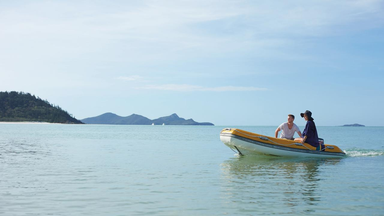 A Whitsunday destination has topped the list of trending domestic destinations for February 2021. Picture: Tourism and Events Queensland