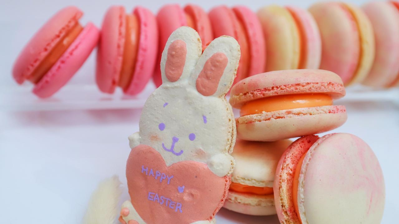 Fatcaron's Easter macarons. Picture: Jenifer Jagielski