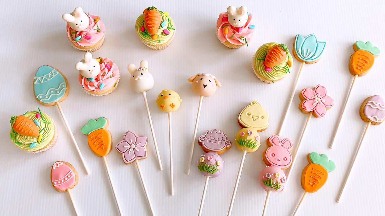 Sugar Pop Bakery's Easter Cake Pops. Picture: Supplied