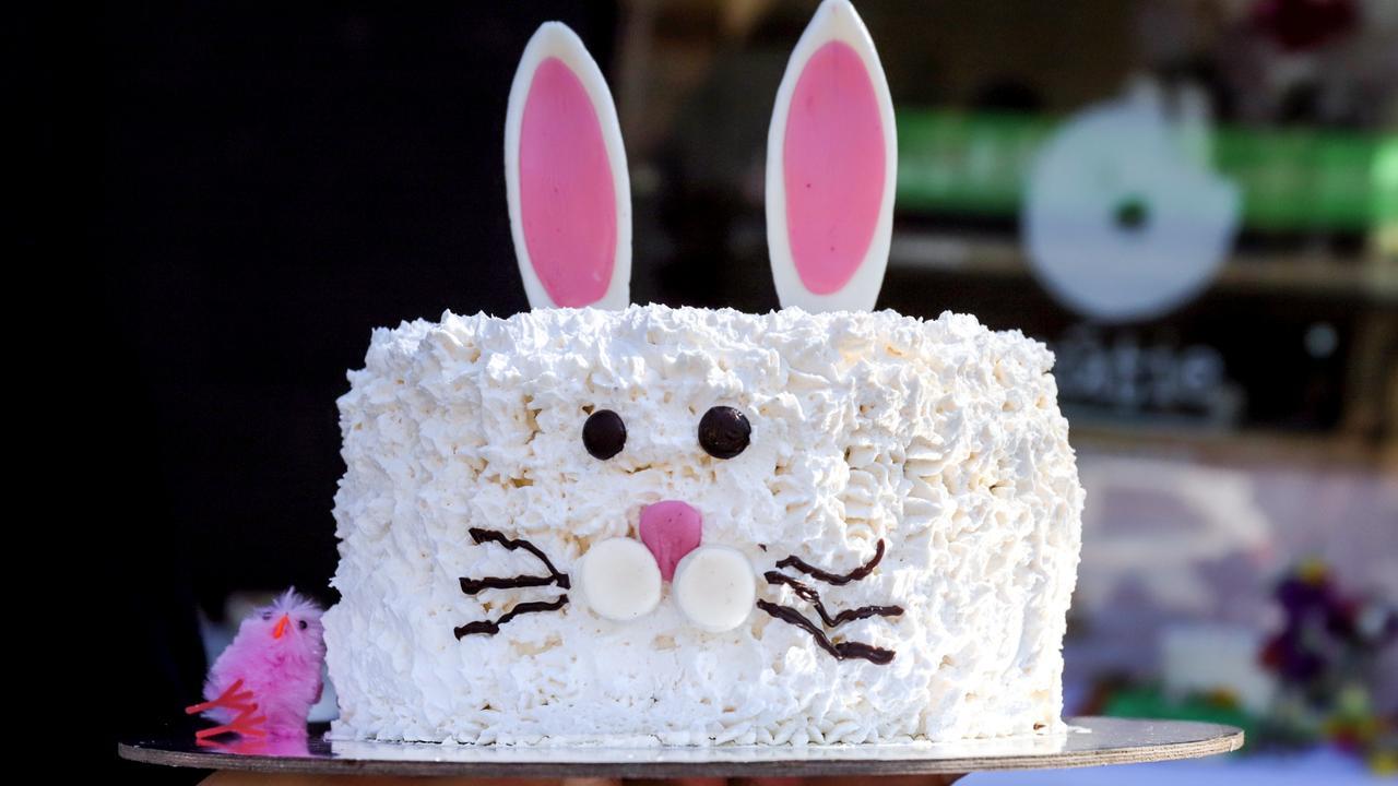 Nutie's vegan Easter cake. Picture: Jenifer Jagielski