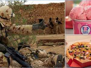 Spoiled Commandos get luxury food perks