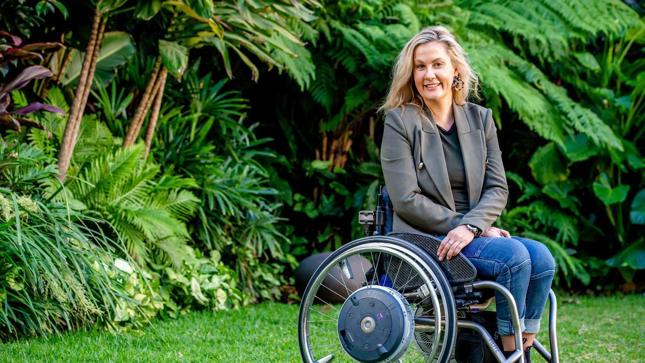 Australian Paralympian Karni Liddell. Picture: AAP Image/Richard Walker