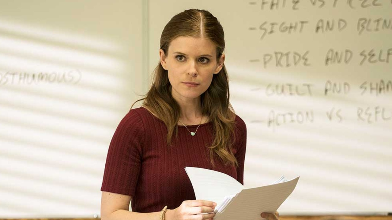 Kate Mara's most memorable role to date is as Zoe Barnes in House of Cards.