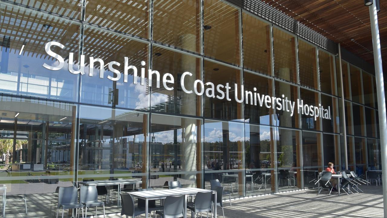 A man in his 50s was taken to Sunshine Coast University Hospita. Photo: File