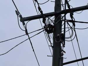 Power lines down near Eton causes outage, traffic delays