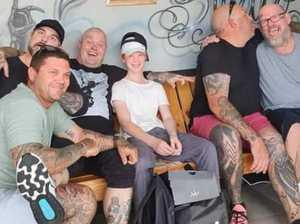 Rocky tattooists put a smile on bullied boy's face