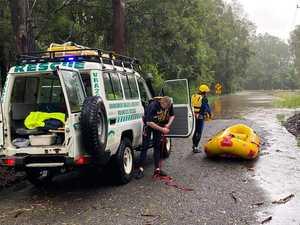 Local strike team at flood rescues on mid-north coast