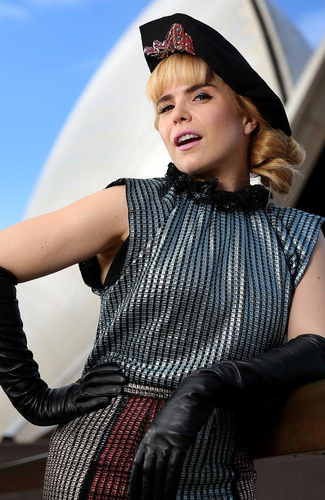 Singer Paloma Faith says she's had 'bad experiences' travelling to Australia. Picture: Toby Zerna